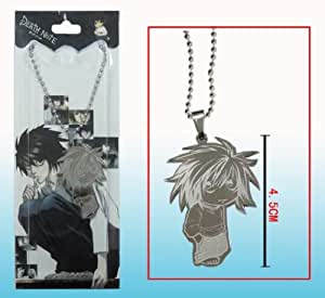 Death Note Anime Necklace - Silver Picture