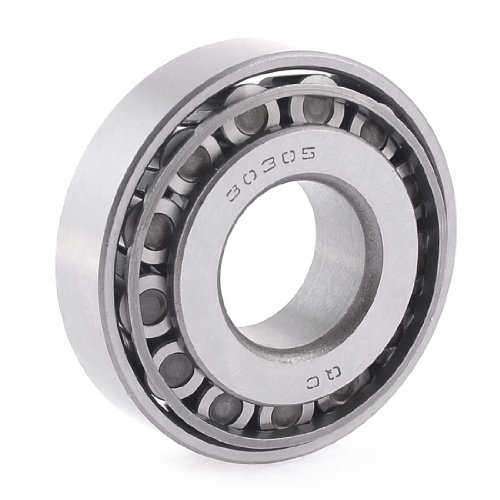 uxcell 25mm x 62mm x 14mm Taper Tapered Roller Wheel Bearing 30305