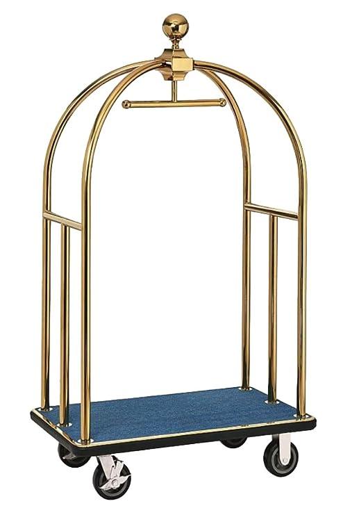 gastlando - Carrito para equipaje Dorado dorado 1060 x 630 x 1850 mm