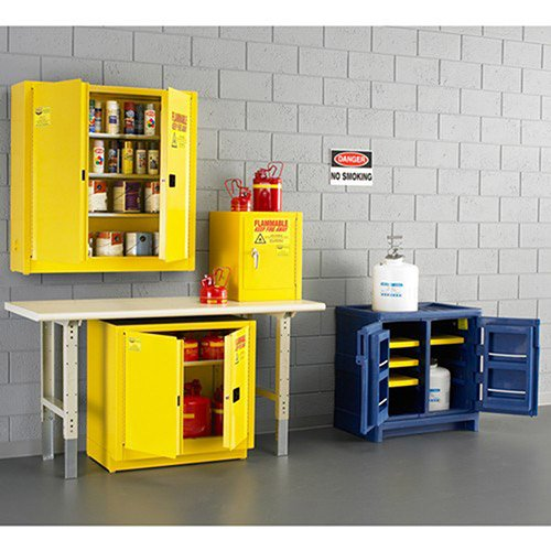 EAGLE Compact Flammable Liquids Safety Cabinet - 23x18x35