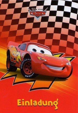 Außergewöhnlich Postkarten Set 7er Einladung Kindergeburtstag Disney Cars