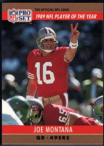 Football NFL 1990 Pro Set #2 Joe Montana 49ers ()
