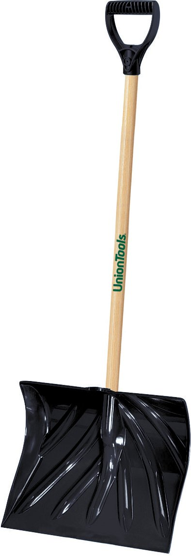 The AMES Companies, Inc Union Tools 18-Inch Poly Snow Shovel - 1627400
