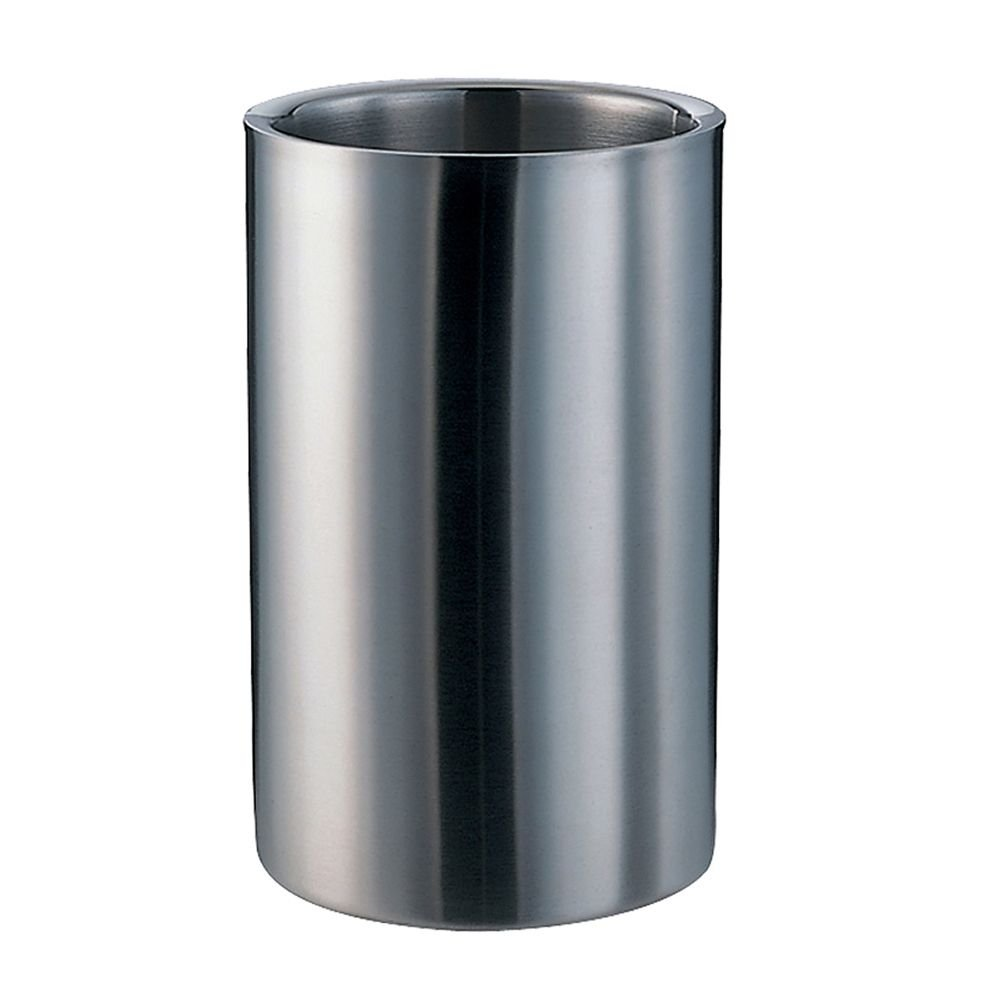 Service Ideas WC1 Wine Chiller, Brushed Stainless Steel