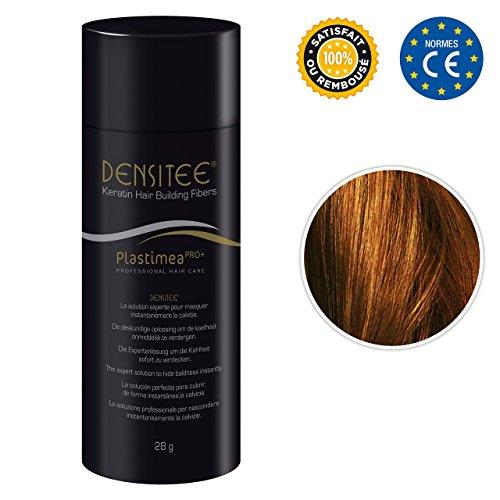 Plastimea Hair Building Fibers – 0.99 Oz/28 Gr – Microfibers Of Natural Keratine – Light Brown
