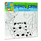 Stephen Joseph Zoo Craft Canvas Set