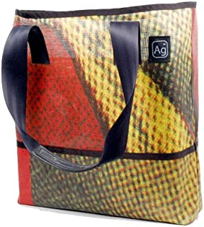 product image for Alchemy Goods Ad Bag, Made from Recycled Billboards (Colors and Patterns Will Vary)