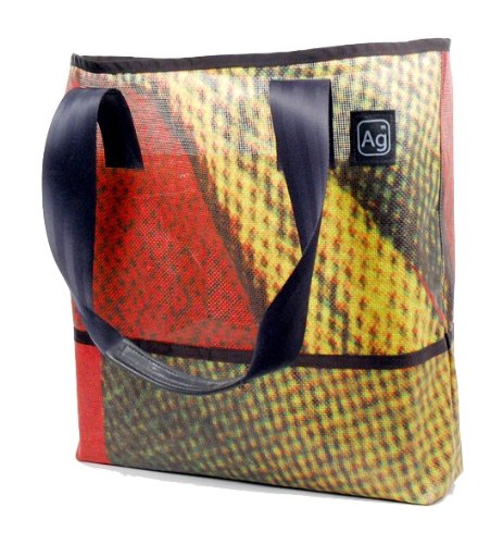 Alchemy Ground - Alchemy Goods Ad Bag, Made from Recycled Billboards (Colors and Patterns Will Vary)