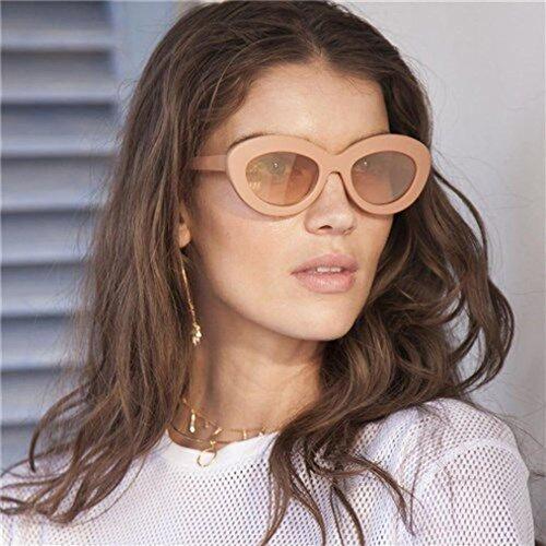 de Œil Chat Homme Big Ovale Soleil Cadre Femme Eyewear de Lunettes b Forme Hunpta Unisexe Rétro xRqTXwwnH