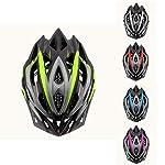 X-TIGER-Casco-da-BiciUltraleggero-Stabile-Strada-Montagna-da-Uomo-Donna-Ciclismo-Casco-di-Bicicletta-Casco-Adulto-Visiera-Casco-di-Protezione-Certificata-CE