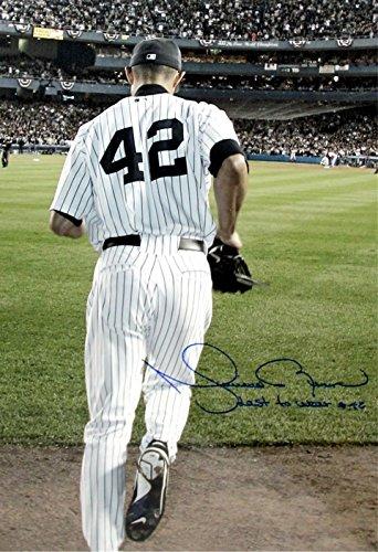 Mariano Rivera Autograph Replica Poster