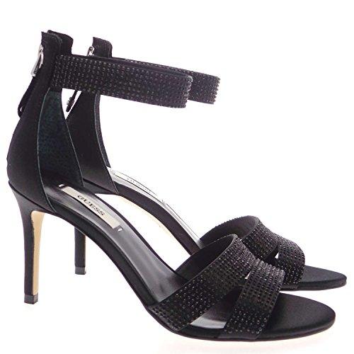 Guess - Sandalias de Vestir de tela Mujer negro