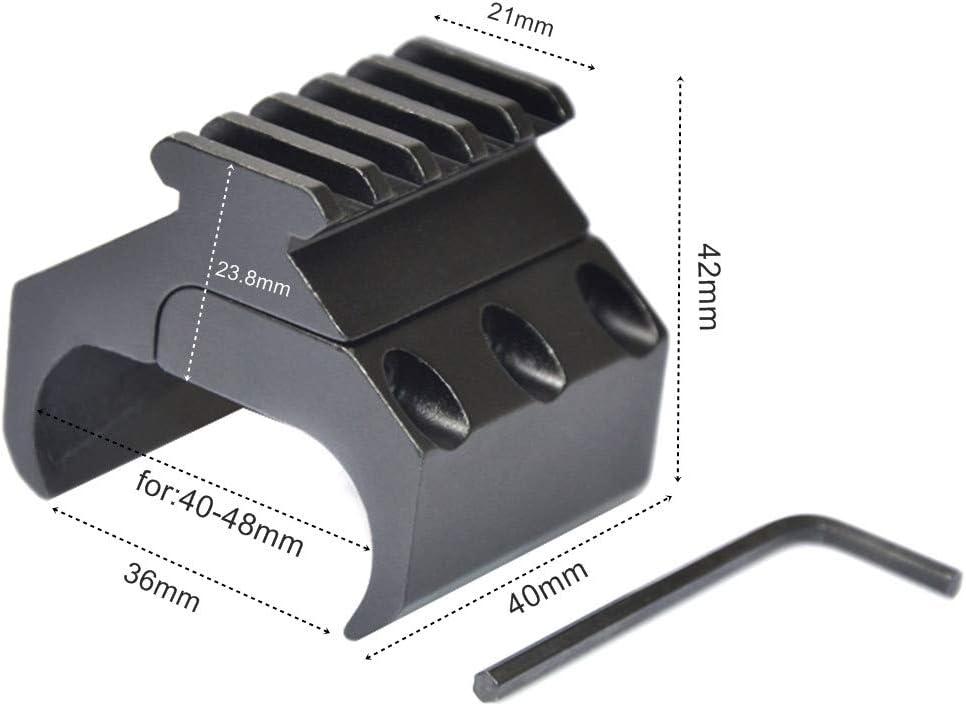 ACEXIER Taktische Jagd Gewehr Gewehr Scope Konverter 20mm Picatinny Weaver Rail Mount Base Adapter Laser Sight Base Taschenlampe