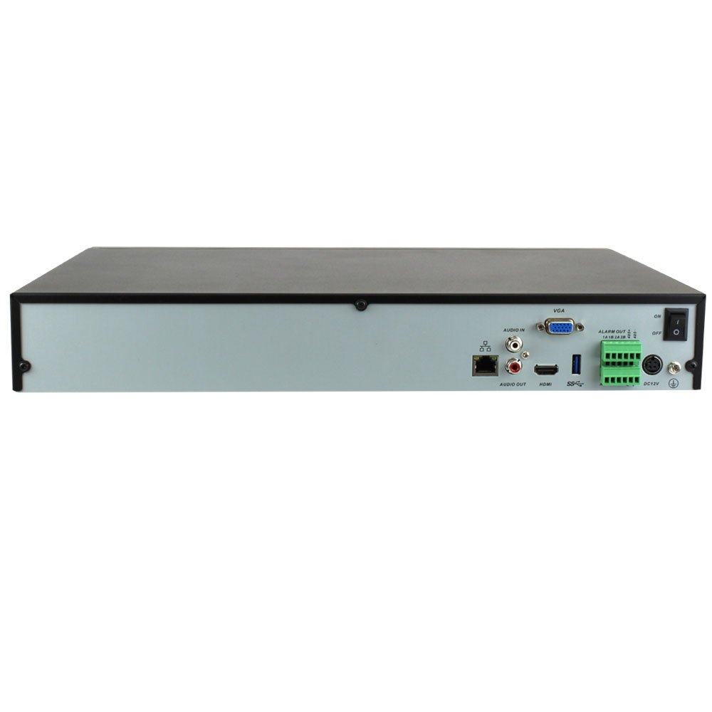 GW 32 Channel H.265/H.264 4K (3840×2160) NVR Security Network Video Recorder - Supports Up 32 X 8MP/5MP/4MP 1080P Any ONVIF IP Camera @ 30fps Realtime, Hold Up to 4x SATA HDDs by GW Security Inc (Image #3)