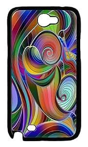 Rainbow Swirl Design Hard Case for Samsung Galaxy NOTE 2 N7100 -1126014 hjbrhga1544