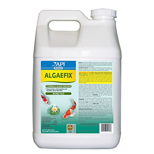 API POND ALGAEFIX Algae Control Solution 2.5-Gallon Bottle