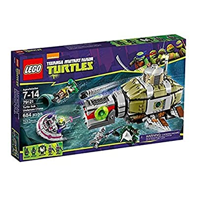 Tracking of Sea Turtles Turtles Submarine (Lego 79121): Toys & Games