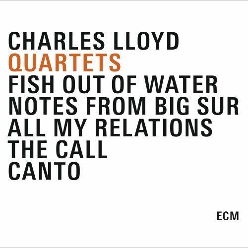 CD : Charles Lloyd - Quartets (Boxed Set, 5 Disc)