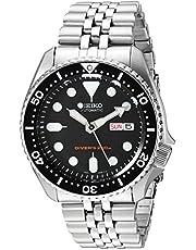 Seiko Herren Analog Automatik Uhr mit Edelstahl Armband SKX007K2