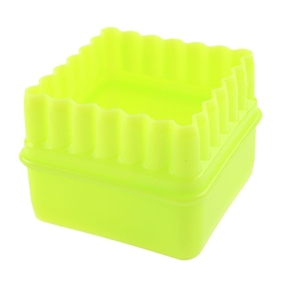 Amazon.com: DealMux Plastic Casa Cozinha Bakeware Praça Shaped Muffin Cupcake Moldes 5 em 1: Kitchen & Dining
