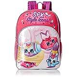 Shopkins Girls' Dress up Backpack, Pink