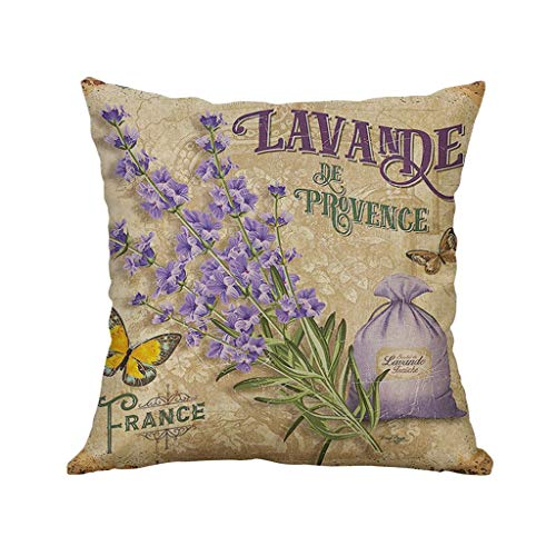 - Throw Pillow Covers, Fulijie Linen Different Patterns Soft Sofa Home Decor Throw Pillow Case Cushion Cover 16x16 Inch