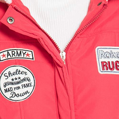 Niña Invierno fashion Abajo chaqueta,Sonnena ❤ Abrigo largo cálido para mujer Chaqueta con capucha y cuello de piel Abrigos de invierno delgado outwear: ...