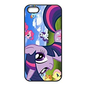 Customize Cartoon My Little Pony Back Cover Case for iphone 5,5S
