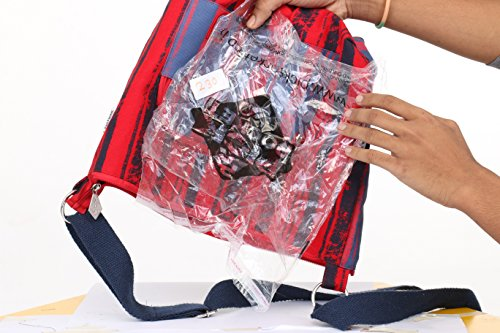 Pick Pocket, Borsa a tracolla donna Rosso Red and Blue