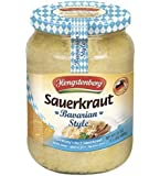 Bavarian Style Sauerkraut From Germany, 24 Ounce Jar
