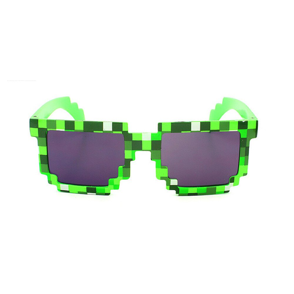 Mosaic Plaid Unisex Glasses UV Protection Goggles Festival Cosplay For Girls