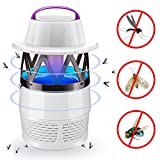 electronic mosquito killer - Electronic Mosquito Killer Lamp, Fly Killer, Bug Zapper, Insect Trap, USB Powered LED Mosquitoes Catcher with Fan for Indoor Outdoor Home Backyard Garden Patio