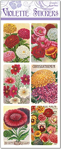 Seed Packet Labels - Claire (Seed Packet Postcards)