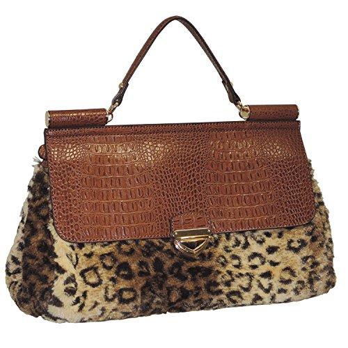 adrienne-landau-rolled-strap-top-handle-satchel-brown