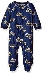 NFL Infant Boys Printed Sleepwear Zip Up...