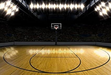 Amazon Com Yeele Basketball Court Backdrops 12x8ft 3 6 X