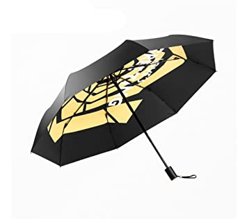 Ms Paraguas Ligero Sunny Rain Doble Uso Paraguas de Viaje al Aire ...