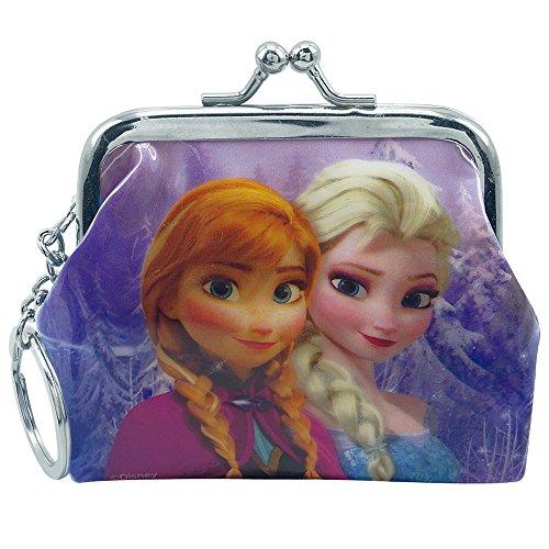 Chaveiro Porta Moeda Anna & Elsa Frozen - Disney
