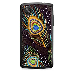 Paisley 7 Nexus 5 Transparent Edge Case - Colorful Paisley Collection