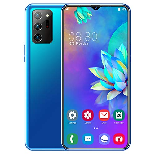 4G Mobile Phone, Note20u Smartphone SIM Free Phones Unlocked, 6.7 Inches Waterdrop Screen, Android 9.0, 13MP/ 32MP Quad…
