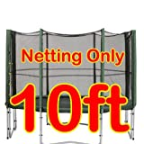 10 ft Replacement Netting For Trampoline Enclosure