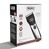 Wahl Professional Artist Chromestyle Pro Cord/Cordless Clipper 8548-100, For Professional Stylists and Barbers, 120V, 60Hz