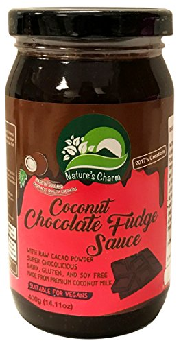 Nature's Charm Coconut Sauce Vegan and Gluten Free (Chocolate Fudge)
