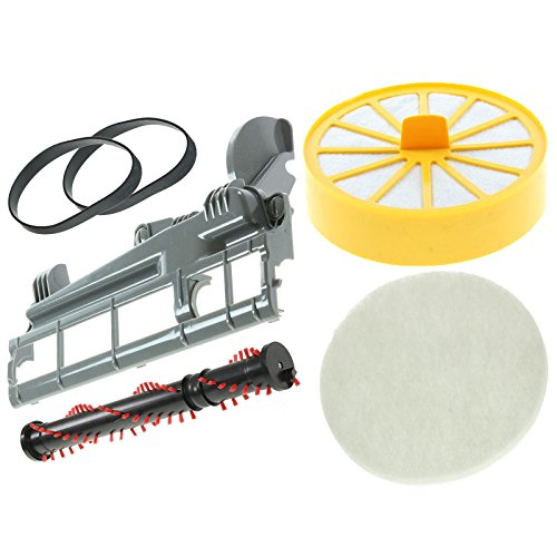 - Spares2go Filters Brushroll, Soleplate Cover & Drive Belt Kit For Dyson DC04 Vacuum Cleaner