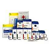 First Aid Only 90692 Medium Metal SmartCompliance General Business First Aid Kit Refill Pack, ANSI A