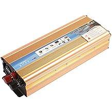 Sedeta 5000W Power Inverter DC 12V to 110V AC Car Inverter Dual USB Auto Adapter emergency power bank