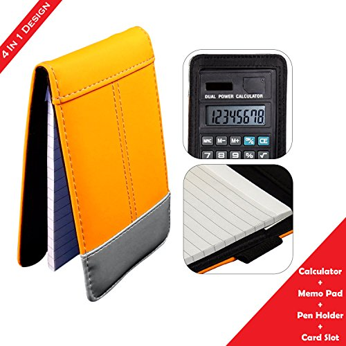 Jotter Note Pad With Calculator, School, Office, Travel - (Jotter Notepad)