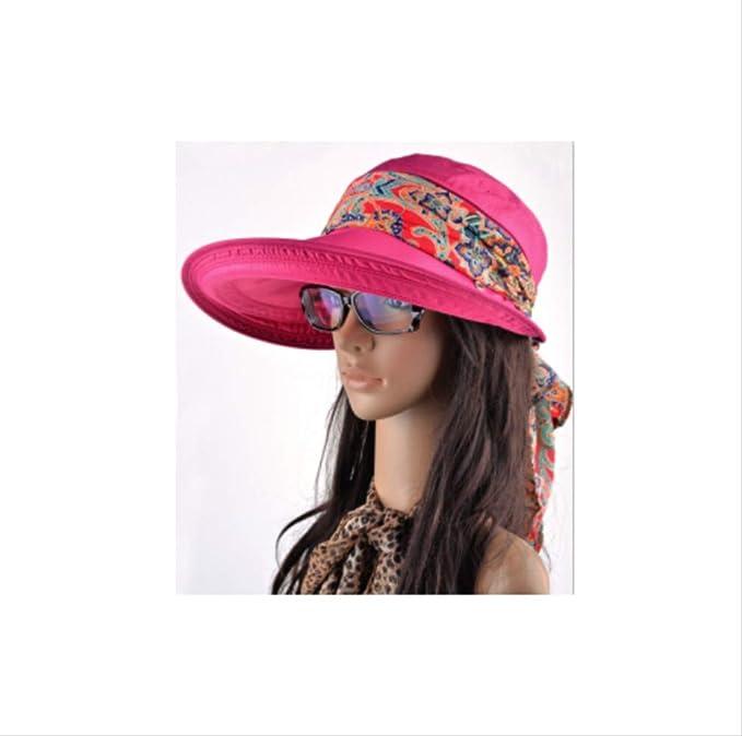 Sombreros de Verano para Mujer Nuevas Viseras de Moda Gorra para ...