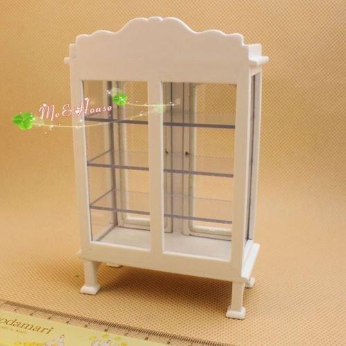Shalleen Dollhouse Miniature Furniture Book Shelf Study Room Table Organizer Rack
