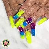 Makartt Poly Nail Extension Gel Kit Rainbow Color